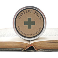 Eco Friendly Herbal Healing Balm - Natural Remedy - First Aid - Camping, Hiking, Outdoor Adventures - Groomsmen Gift