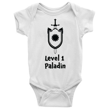 Level 1 Paladin Baby Onesuit