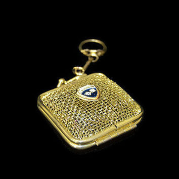 Bag Keychain Money Pouch Key Chain Laughlin Dice Mini Purse Keyring Golden Metal Mothers Gift Mom Gift Casino Keychain Collection Handbag