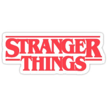 'STRANGER THINGS ' Sticker by BbblDiscoQueen
