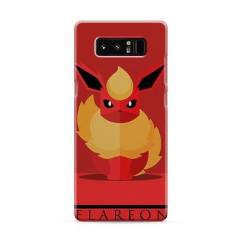 Flareon Pokemon Go Samsung Galaxy Note 8 Case