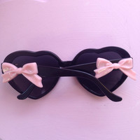 Pastel Goth Heart Shaped Sunnies