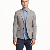 H&M Wool-blend Twill Jacket $79.99