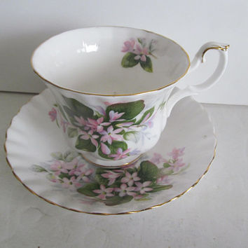 Pink Mayflower Bone China Tea Cups Prairie Rose Royal Albert Fine Bone China Tea Cup Tea Cup Saucer Set Pink Floral Tea Cups Made in England