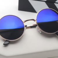 Designer Fashion Retro Vintage Stylish Round Women Sunglasses
