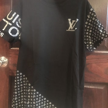 Mens LV Monogram T-Shirt, Fresh