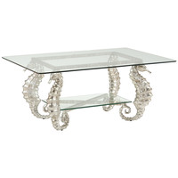 Seahorse Coffee Table | Silver