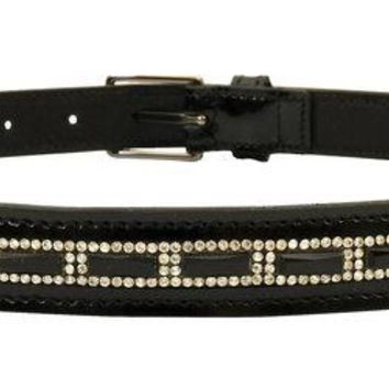 Dublin Diamante Checkered Belt Adults Large