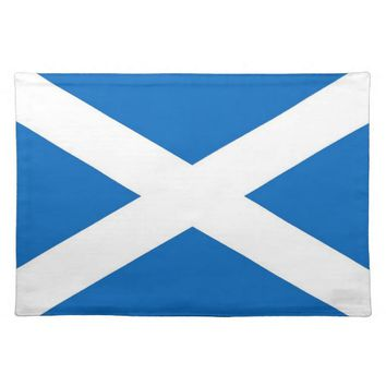 Scotland Flag on MoJo Placemat