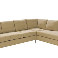 Loveseat Chaise Sectional Couch Queen Pullout Bed Soho