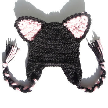 Cat Hat CROCHET PATTERN Crochet Cat Hat Baby Cat Hat Pattern Cat Ear Hat Cat  Beanie a0f5321f093