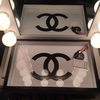 Chanel Makeup or Display Tray