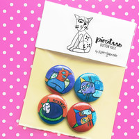 Picatsso button set