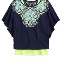 Graphic Circle Top 2fer   Girls Tops Clothes   Shop Justice