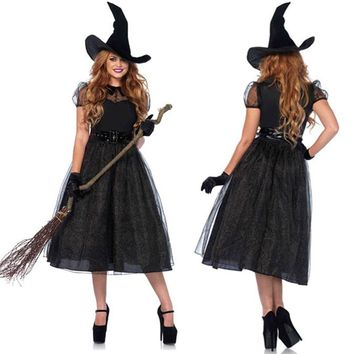 Games Halloween Witch Uniform [47035383833]