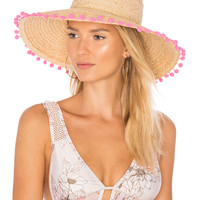 Hat Attack Raffia Braid Lampshade in Natural