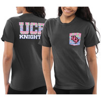 UCF Knights Women's Coastal Aztec T-Shirt – Black