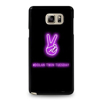 DOLAN TWIN TUESDAY Samsung Galaxy Note 4 Case Cover