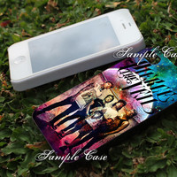 pierce the veil band member Customized cellular case for iPhone 4/4S, iPhone 5/5S/5C, iPad mini, Samsung Galaxy S3 and S4