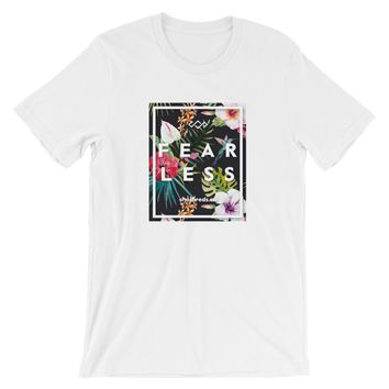 Fearless T-Shirt - Tropical Print