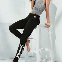 Chenire Victoria's Secret Women Fashion Casual Letter Tight Stretch Pants Trousers Sweatpants