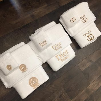 Versace / Dior / Gucci Bath towel Towel Suits