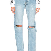 Palmer Girls x Miss Sixty Mom Jeans in Medium Wash | FWRD