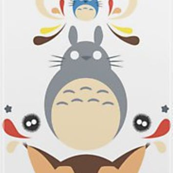 """Totoro and Friends"" iPhone & iPod Cases by Kannaya 