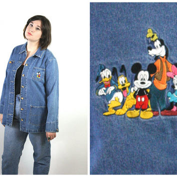Shop Disney Denim On Wanelo