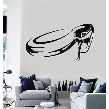 Wall Stickers Vinyl Decal Reptile Snake Predator Tribal Room Decor Unique Gift (ig152)