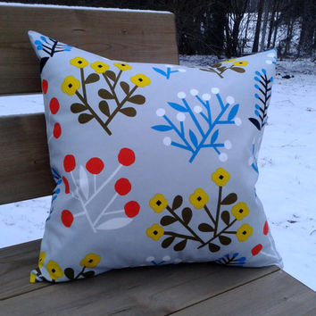 Marimekko Pillow cover, pillow case, pillow sham, throw pillow cover, cushion cover, envelope pillow, Scandinavian pillow, multicolor