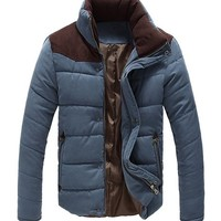 West Street Haku Men's Classic Winter T Tone Padded Jacket