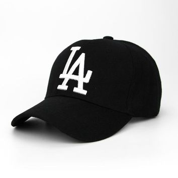Baseball Caps LA Dodgers Embroidery Snapback Hat