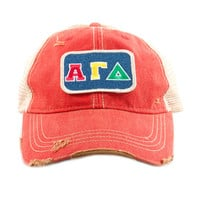 Judith March Alpha Gamma Delta Hat (AGD)
