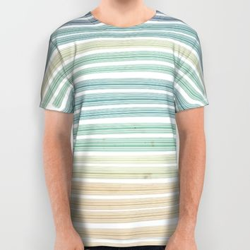 Sand and sea All Over Print Shirt by EDrawings38