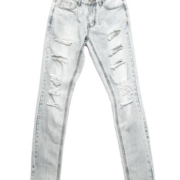 Embellish - Aventador Ripped Standard Denim (Light Blue)