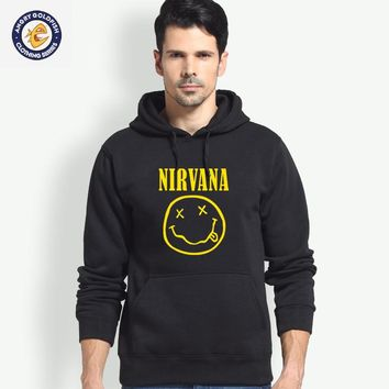 Artix Nirvana Hoodies Men Women 1:1 High Quality Hoodie Sweatshirt Face Smile with Street Wear Style Pullover Hoodies