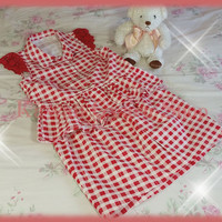 Liz Lisa Gingham Top and Skirt Setup (NwT)