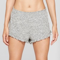 Women's Cozy Ruffle Pajama Shorts - Xhilaration™