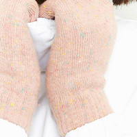 Super Soft Nep Knitted Gloves - Urban Outfitters