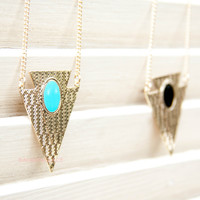 Owasso Lake Gold Arrow Necklaces