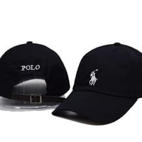 Perfect Polo Ralph Lauren Women Men Embroidery Sport Baseball Cap Hat