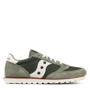 Saucony Jazz Low Pro Men's - Green/White