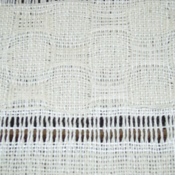 Made to Order Handwoven Special Infant Blanket. OOAK. Virgin Wool and Perle Cotton.