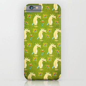 Flowers & Unicorns iPhone & iPod Case by That's So Unicorny