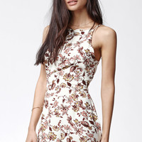 Kendall and Kylie Floral Print Scallop Hem Romper at PacSun.com