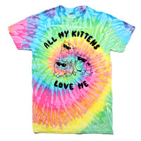 All My Kittens Love Me Tee
