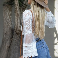 Everly Lace Top