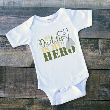 My Daddy is my Hero Onesuit