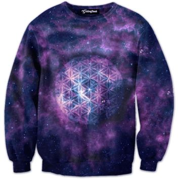Galaxy Sphere Crewneck